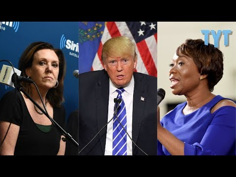 """How Neoliberal Pundits Put """"Alt-Left"""" In Trump's Mouth"""
