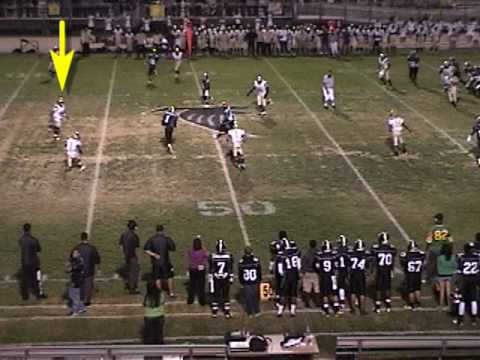 #24 Chris Bush-Pete Knight High School Football-Defensive Highlights