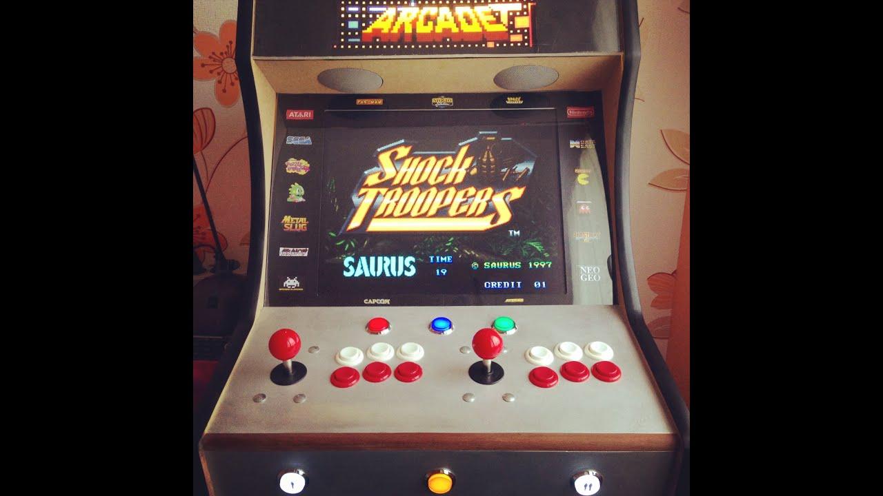 Arcade Cabinet Bartop Multigames (homemade)