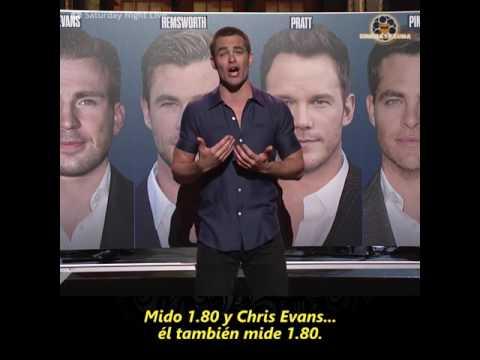 Chris Pine harto de que lo confundan
