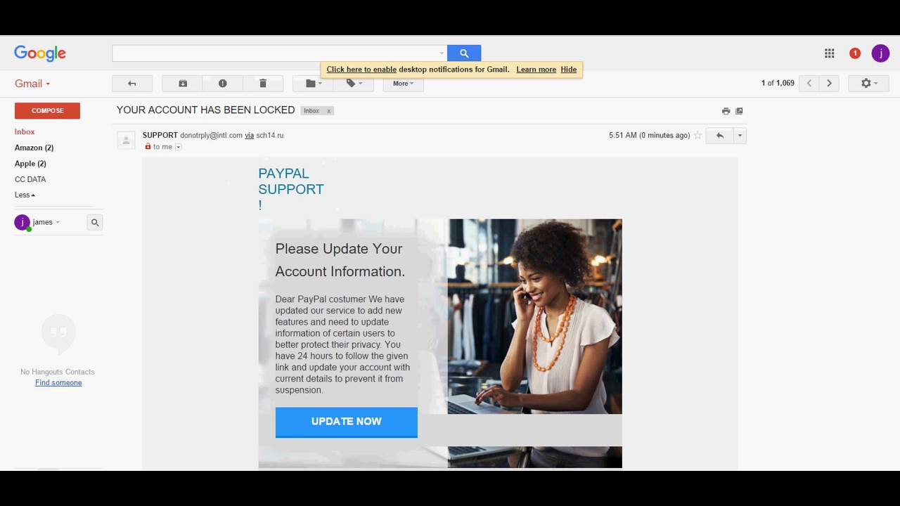 INBOX MAILER 2017-2018 (PAYPAL , APPLE , GMAIL , OUTLOOK, YAHOO)