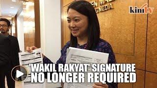 Hannah announces move to reduce bureaucracy to get welfare aid