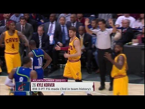 Kyle Korver's Return To Atlanta | Cleveland Cavaliers Highlights | 3.3.17
