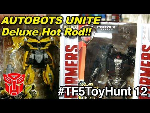 I got Deluxe Hot Rod!!  Autobots UNITE! - [TF5 Toy Hunt #12]