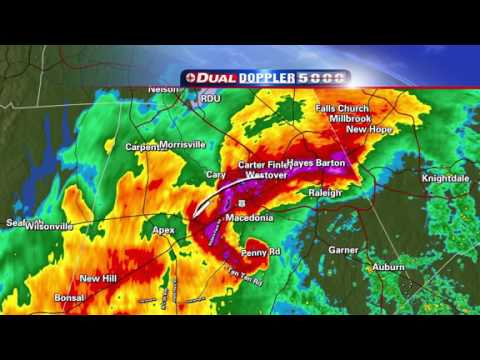 2011-04-16 - WRAL-TV Live Tornado Coverage - 330PM to 400PM