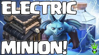 ZapQuake Minions?! - Electric Minion TH9 DE Farming - Clash of Clans - Loonion DE Farming
