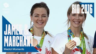Rio Medal Moments: James and Marchant claim sprint silver and bronze | Cycling