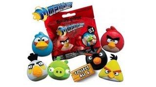 Обзор Игрушки-мялки Angry Birds