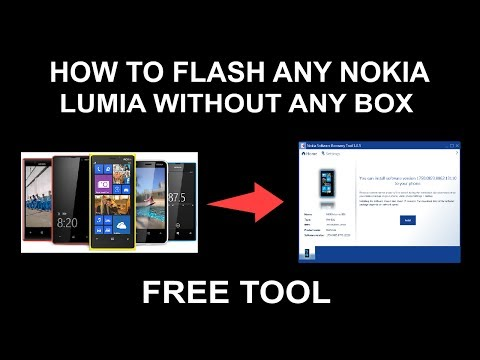 How To Flash Any Lumia Without Any Box By Offical Tool