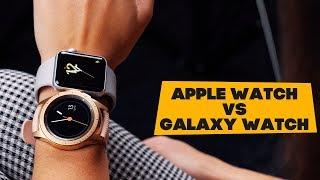 Apple Watch vs Samsung Galaxy Watch - опыт обычных пользователей!