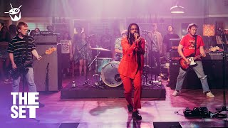 The Chats and Genesis Owusu cover Talking Heads 'Psycho Killer' live on The Set