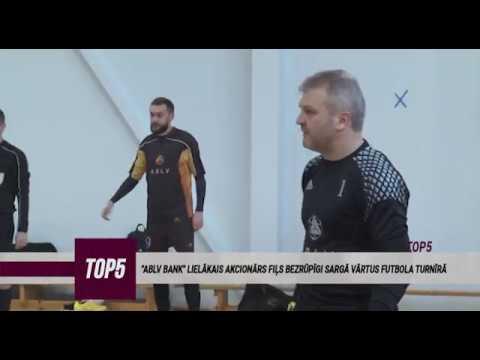 """""""ABLV Bank"""" nonāk grūtībās, bankas padomes priekšsēdētājs Oļegs Fiļs piedalās banku futbola turnīrā"""