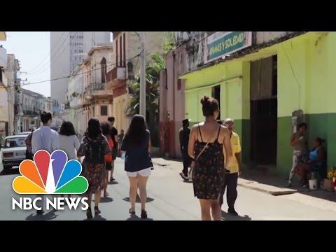 CubaOne Brings Cuban Americans On 'Birthright' Trip To Havana   NBC News
