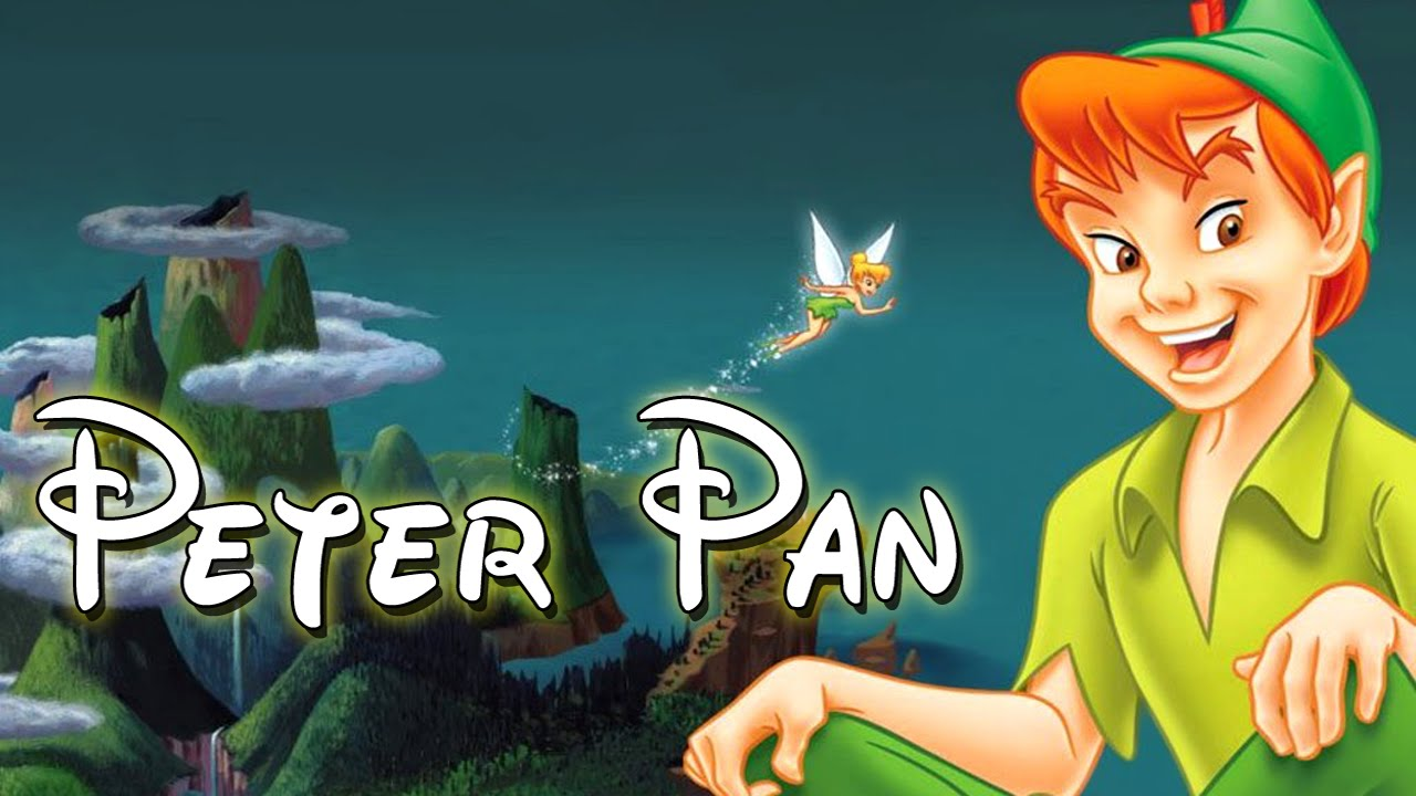 It's just a graphic of Bright Peter Pan Picture