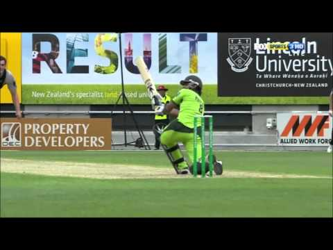 Pakistan's Fours & Sixes vs New Zealand 3rd T20 1080p HD