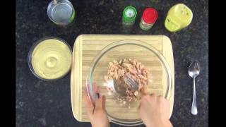 Healthy Tuna Salad Dip (low Fat & Dairy Free)