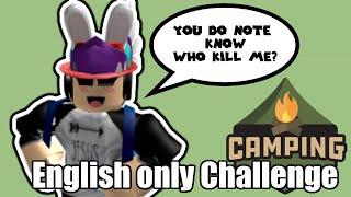 ENGLISH ONLY CHALLENGE SA ROBLOX