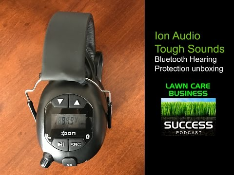 Ion Tough Sounds Bluetooth AM/FM Hearing Protection unboxing