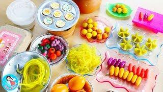 ละครสั้น-เปิดร้านขนมไทยเจ๊นุ้ย-ร้านอาหารของเหล่าเจ้าหญิงและฮีโร่-cooking-play-doh-food