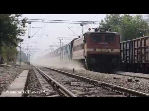 12192 JABALPUR NEW DELHI SHRIDHAM SUPERFAST BRUTALLY RIPS RUNKUTA