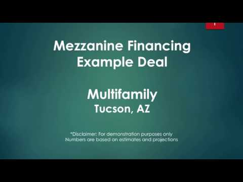 How to Structure Mezzanine Financing