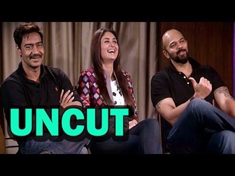 UNCUT - Singham Returns Movie - Ajay Devgn, Kareena Kapoor & Rohit Shetty's EXCLUSIVE Interview!