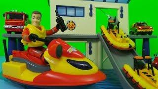 🚒🔥 Fireman Sam Full Episode 2017 - Ocean Rescue Sets ! 🌊⚓ TOP 3