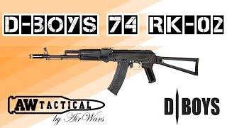 Краткий внешний обзор электро-пневматического привода D-Boys 74 RK-...