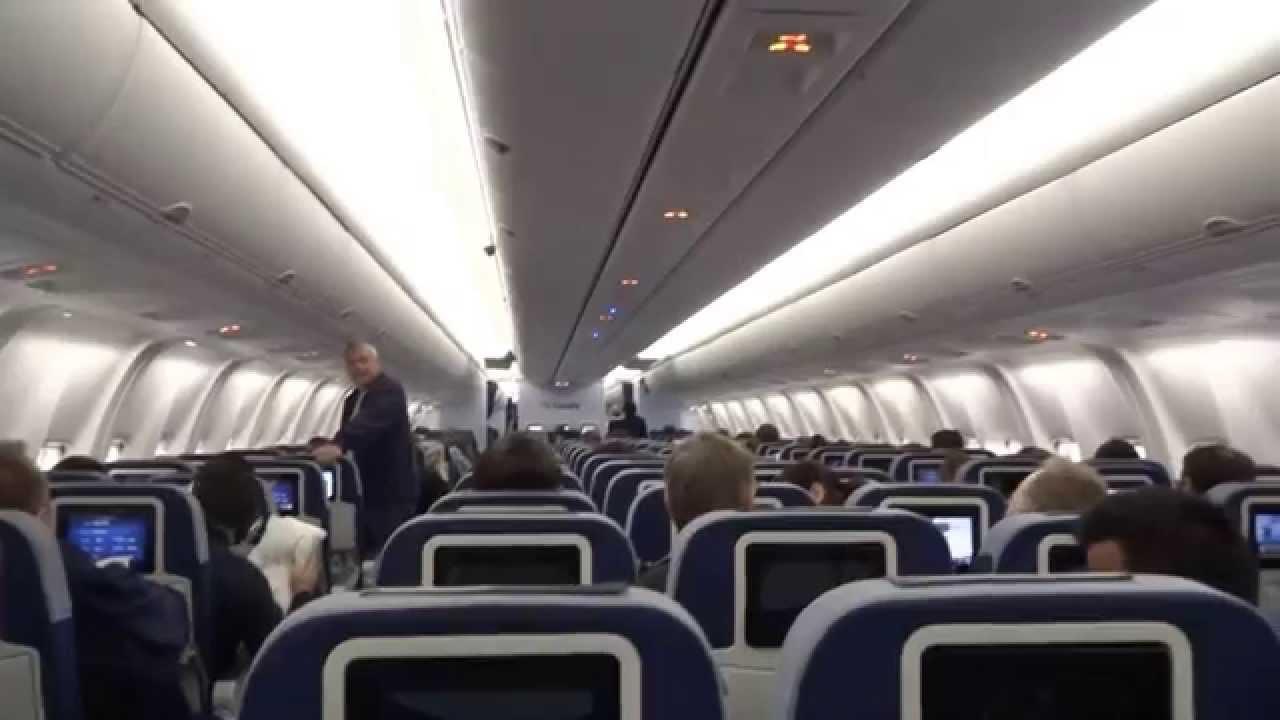 Condor Airlines Neue Sitze Kabine Boeing 767 300er Fra Deutschland Youtube