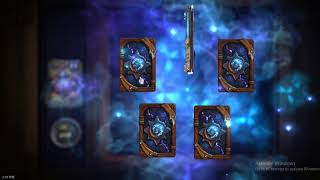 [Hearthstone] Witchwood pack opening. 36 last packs + disenchant.