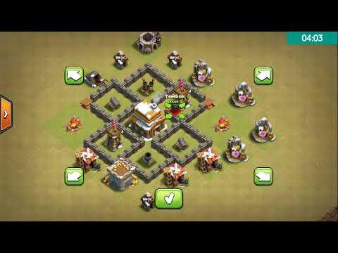 Base Coc Th 4 Terkuat Di Dunia 1