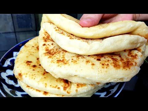 Bazlama☆ Такие Воздушные Кефирные Чудо  ЛЕПЁШКИ На сковороде ‼Съедается в один миг 👍