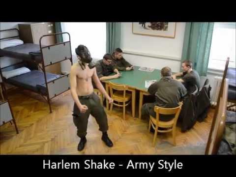 Harlem Shake - Army Style