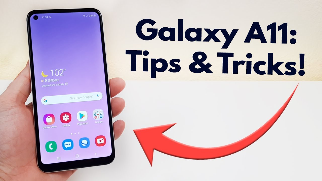 Samsung Galaxy A11 Tips And Tricks Hidden Features Youtube