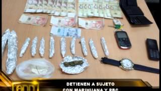 DETIENEN A SUJETO CON MARIHUANA Y PBC - Antena Norte Noticias