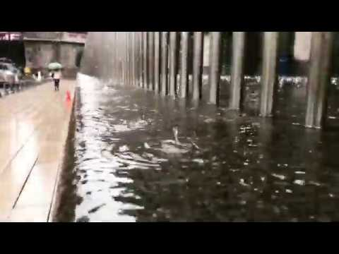 ASMR rain: Chicago rain in slow motion