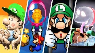 Evolution of Luigi Being Rescued (1995-2021)