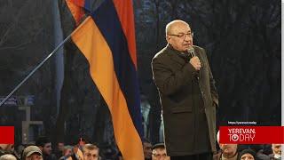 Բանակի ղեկավարությունն ասաց, որ չի ենթարկվի անօրինական կարգադրությունների. Վազգեն Մանուկյան