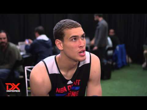 Dwight Powell Draft Combine Interview