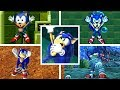 Evolution Of SONIC DROWNING In The Sonic The Hedgehog Series  1991 2018  Genesis  GBA  PC   More