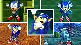 Evolution Of SONIC DROWNING In The Sonic The Hedgehog Series (1991-2017) Genesis, GBA, PC & More!