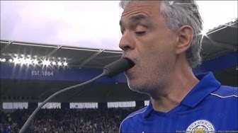 Andrea Bocelli performing Nessun Dorma and Con Te Partiro at Leicester