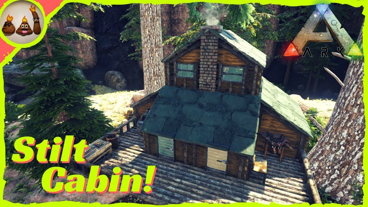 How to Build: Stilt Cabin! | Ark: Survival Evolved Gameplay (PC)