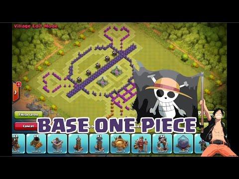 COC Wall Art Base - One Piece - Mugiwara - Logo Topi Jerami