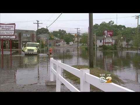 New Jersey Streets Flooded