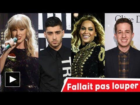 Taylor Swift, Zayn Malik, Beyoncé, Charlie Puth…: fallait pas louper! #NRJ