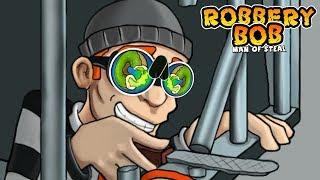 Robbery Bob™ - Level Eight AB Chapter 1 NINJA CUIT Walkthroug