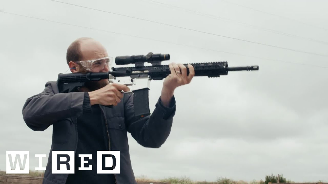 I Made an Untraceable AR-15 'Ghost Gun' In My Office | WIRED