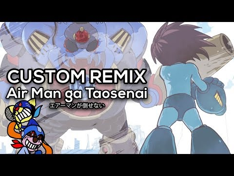 Rhythm Heaven Custom Remix  Air Man ga Taosenai エアーマンが倒せない