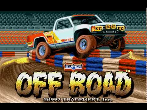 Mega Drive Longplay [412] Super off Road